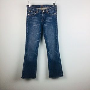 "7 For all Mankind ""A Pocket"" Jeans size 29"